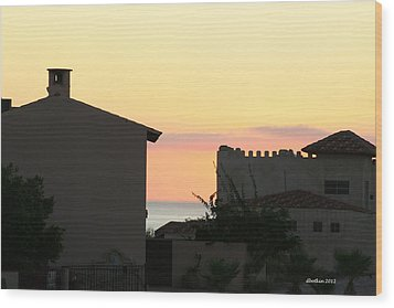 Wood Print featuring the photograph Mar De Cortez Morning by Dick Botkin
