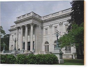 Marble House  --  Newport Rhode Island  Wood Print