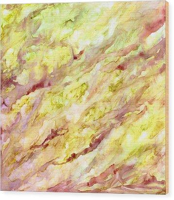 Marble Veins Wood Print by Rosie Brown
