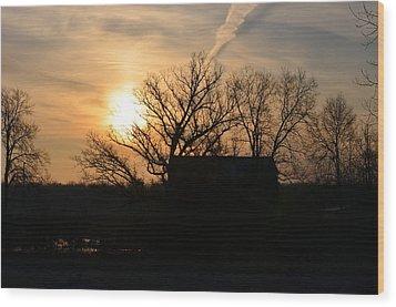 March Sunrise1 Wood Print by Jennifer  King