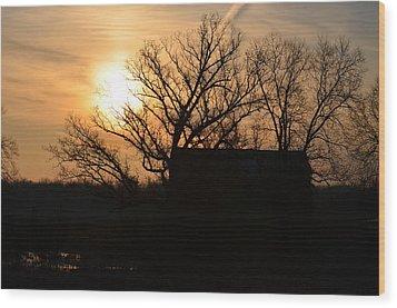 March Sunrise2 Wood Print by Jennifer  King