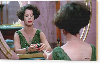 Marcia Gay Harden As Verna Bernbaum In The Film Miller S Crossing By Joel And Ethan Coen Wood Print