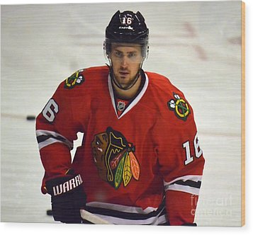Marcus Kruger Wood Print by Melissa Goodrich