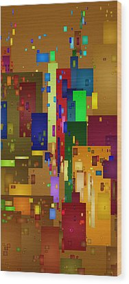Mardi Gras Wood Print by David Hansen