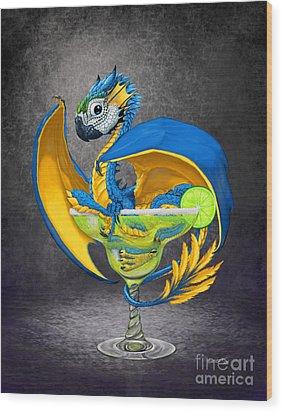 Margarita Dragon Wood Print