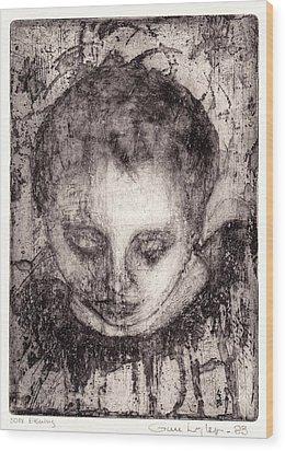 Maria Wood Print by Gun Legler