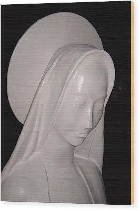 Maria 2008 Wood Print