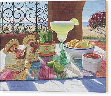 Mariachi Margarita Wood Print by Steve Simon