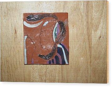 Maribel - Tile Wood Print by Gloria Ssali