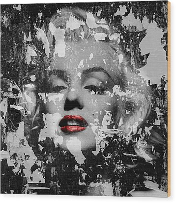Marilyn Monroe 5 Wood Print