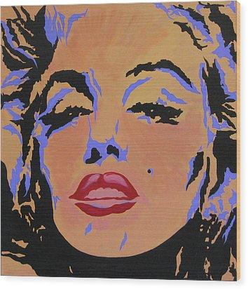 Marilyn Monroe-sultry Wood Print