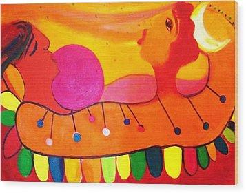 Marimba Wood Print by Jose jackson Guadamuz guadamuz