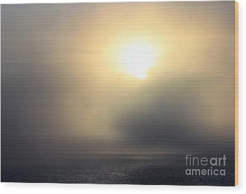 Marine Layer Wood Print by Fred  Sheridan