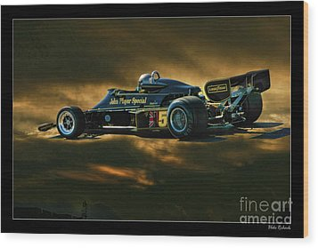 Mario Andretti John Player Special Lotus 79  Wood Print
