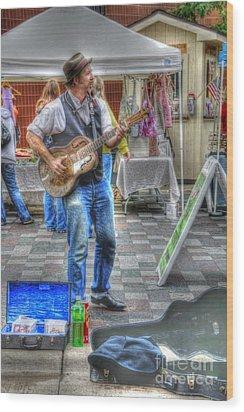 Market Image 26 Wood Print by David Bearden
