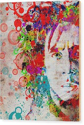 Marley 4 Wood Print by Bekim Art