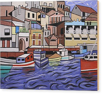 Marseille France Wood Print by Anthony Falbo