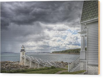 Marshall Point Lighthouse Wood Print