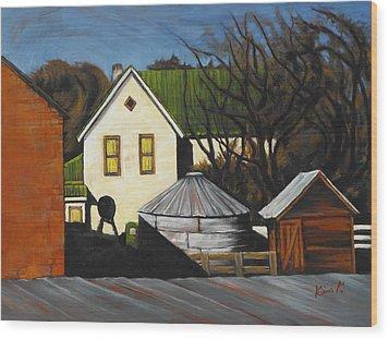 Martha Used To Live Here Wood Print