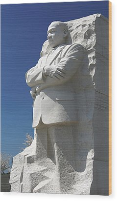 Martin Luther King Jr. Memorial Wood Print by Mike McGlothlen