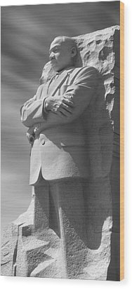 Martin Luther King Jr. Memorial - Washington D.c. Wood Print by Mike McGlothlen