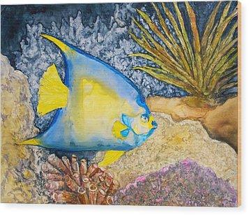 Martinique Angel Wood Print