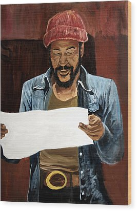 Marvin2 Wood Print by Roger  James