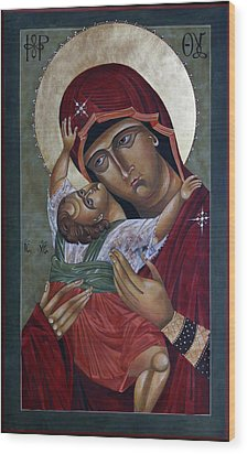 Mary Kadiotissa Wood Print by Mary jane Miller