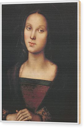 Mary Magdalen Wood Print by Pietro Perugino