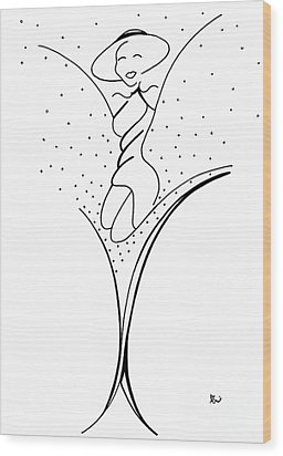Mary Mcintyre Wood Print
