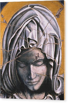 Mary Super Petram - Study No. 1 Wood Print by Steve Bogdanoff
