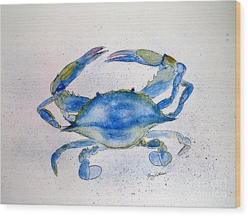 Maryland Blue Crab  Wood Print