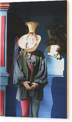 Maryland Renaissance Festival - A Fool Named O - 121210 Wood Print by DC Photographer