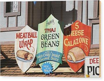 Maryland Renaissance Festival - Merchants - 121227 Wood Print by DC Photographer
