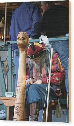 Maryland Renaissance Festival - Merchants - 121256 Wood Print by DC Photographer