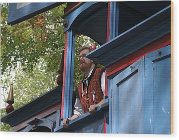 Maryland Renaissance Festival - Mike Rose - 12124 Wood Print by DC Photographer