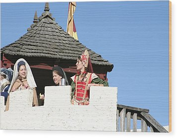 Maryland Renaissance Festival - Open Ceremony - 12123 Wood Print by DC Photographer