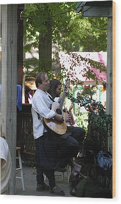Maryland Renaissance Festival - People - 121216 Wood Print by DC Photographer