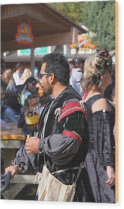 Maryland Renaissance Festival - People - 121248 Wood Print by DC Photographer