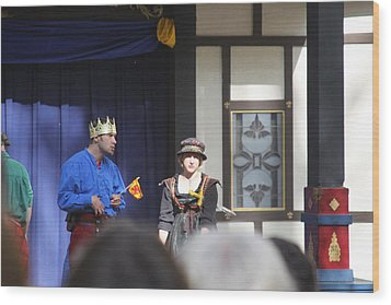 Maryland Renaissance Festival - People - 121251 Wood Print by DC Photographer