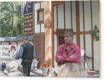 Maryland Renaissance Festival - Puke N Snot - 12121 Wood Print by DC Photographer