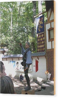 Maryland Renaissance Festival - Puke N Snot - 12122 Wood Print by DC Photographer