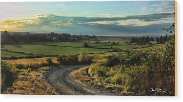 Marysville Valley Wood Print
