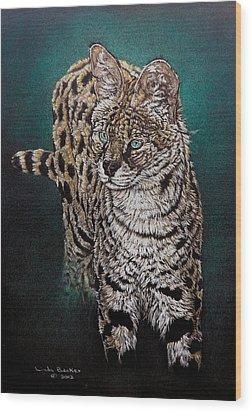 Masaai Wood Print