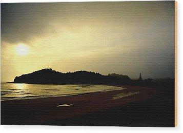 Matapouri At Sunrise Wood Print