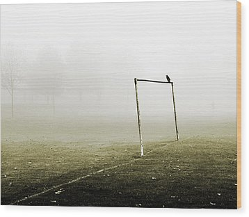 Match Abandoned Wood Print by Mark Rogan