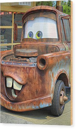 Mater Wood Print