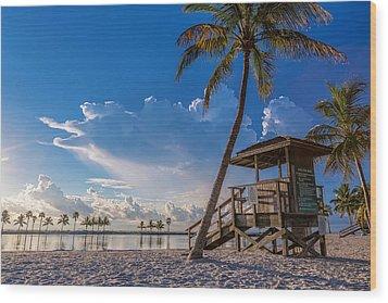 Matheson Hammock Park Atoll Wood Print
