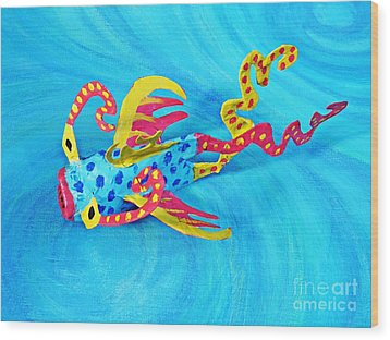 Matisse The Fish Wood Print by Sarah Loft