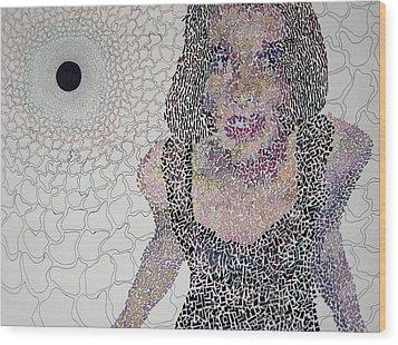 Matrix Wood Print by Amy Mackenzie